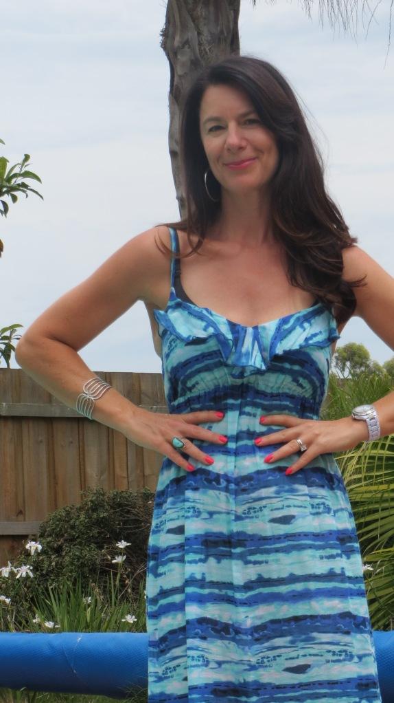 Maxi Target dress, close