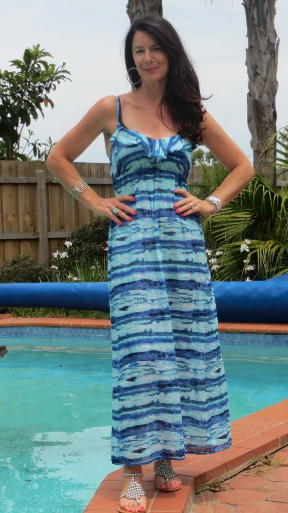 Maxi Target dress