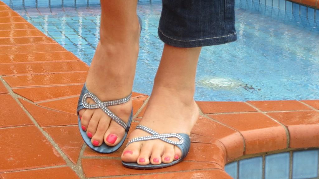 Midas diamond mini heels