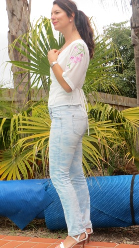 White-wash jeans side 5