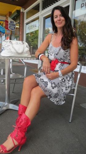 Jeanswest b&w dress 1