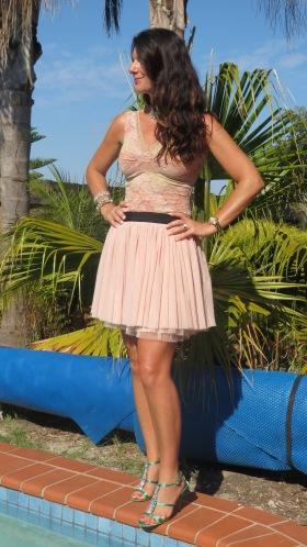 Sass blush pink skirt 3