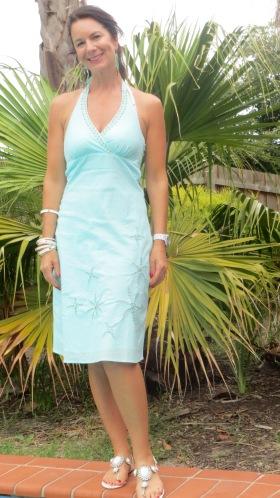 Green Target dress 3