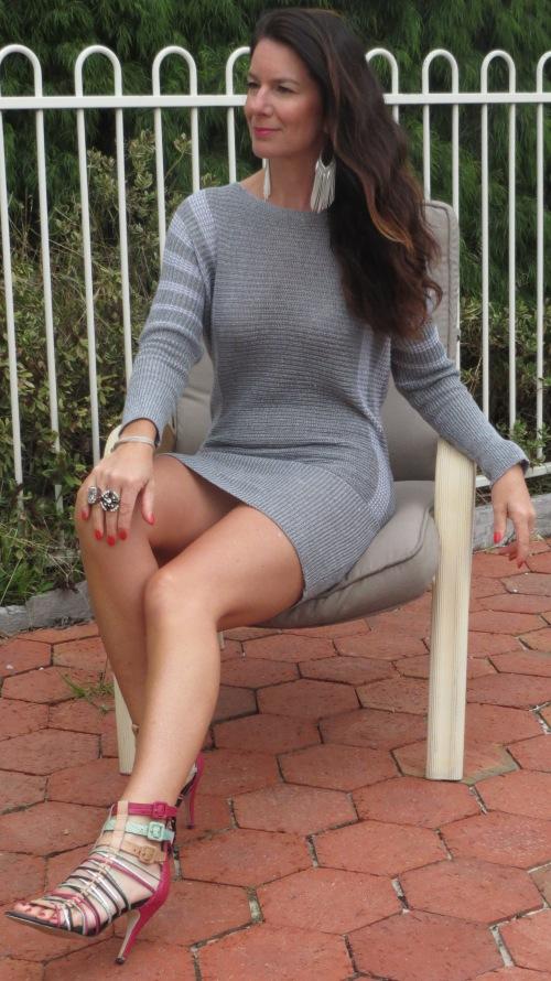 Silver CKM dress 1