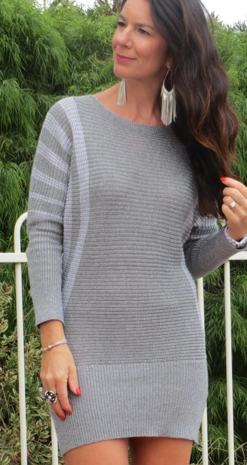Silver CKM dress 2