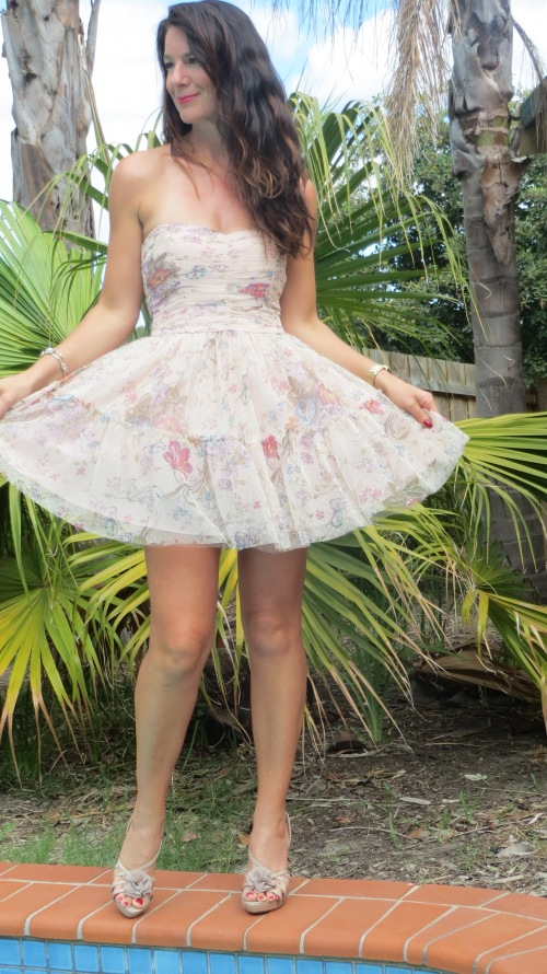 Zara  organza dress 1