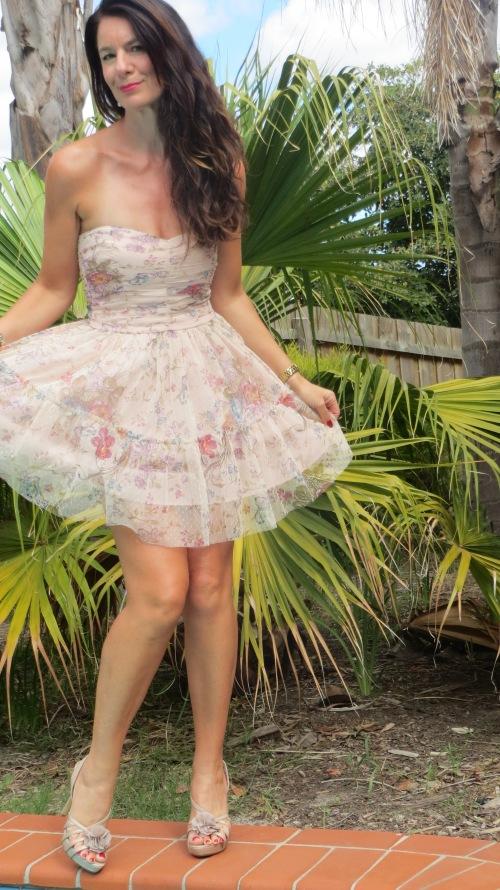Zara organza dress 2
