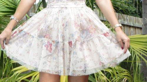 Zara organza dress 3