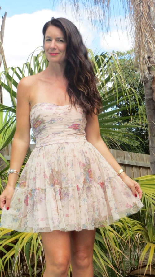 Zara organza dress 5