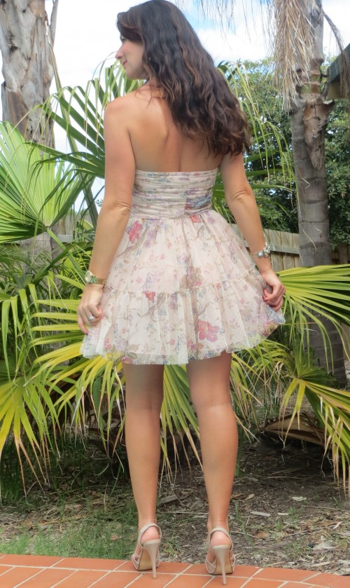 Zara organza dress 9