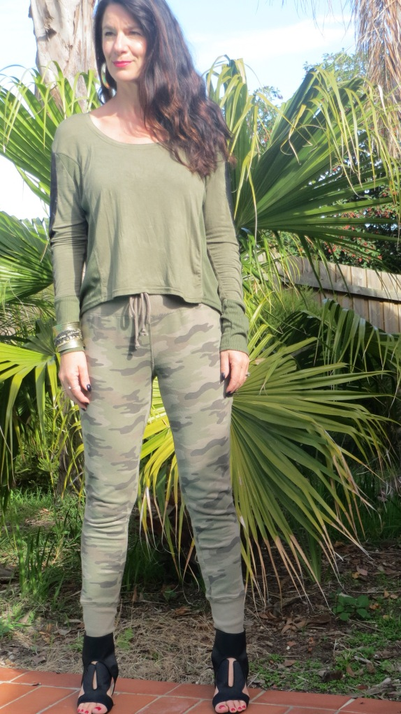 Camo khaki pants 2