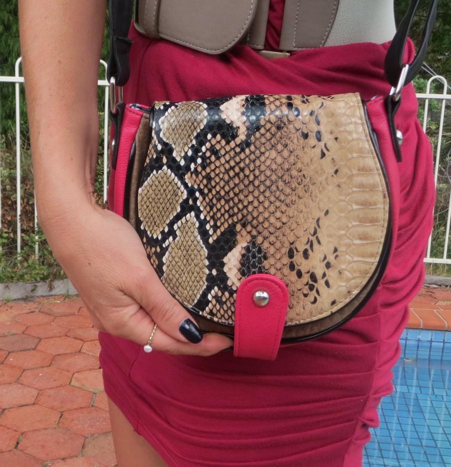 Fiorelli snakeskin bag