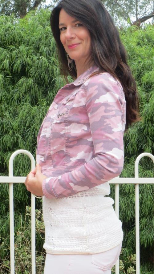 Pink military jacket 2