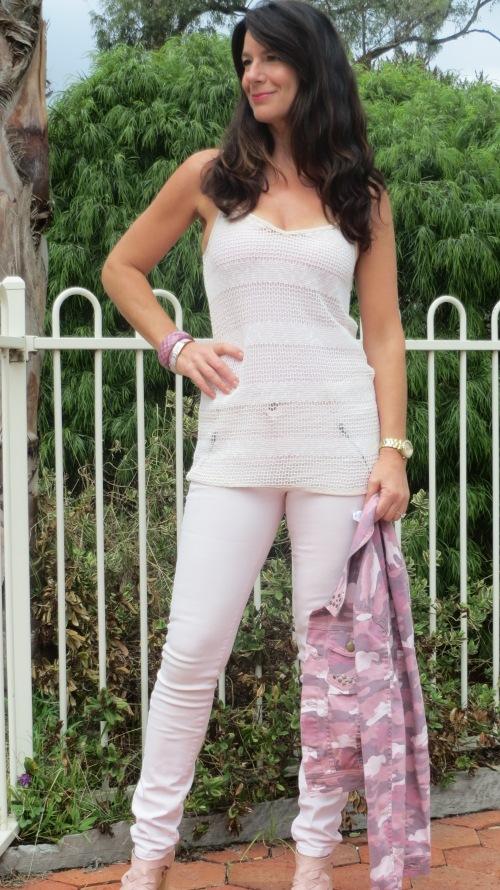 Pink military jacket 4