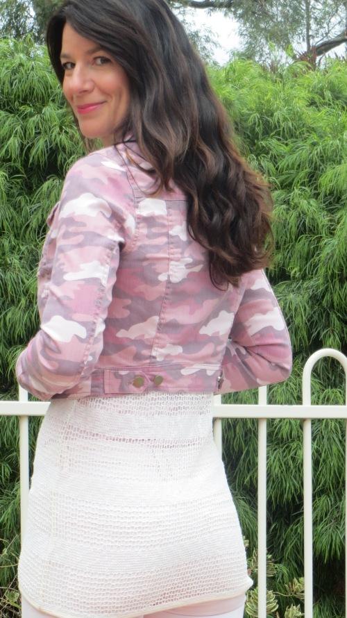 Pink military jacket 6