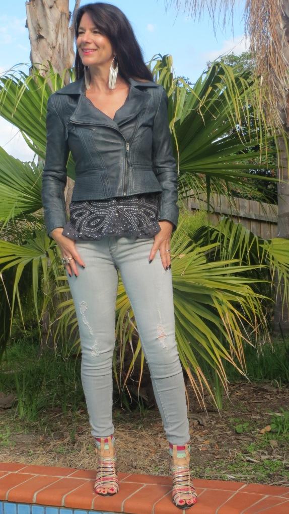 Zara grey jeans 2