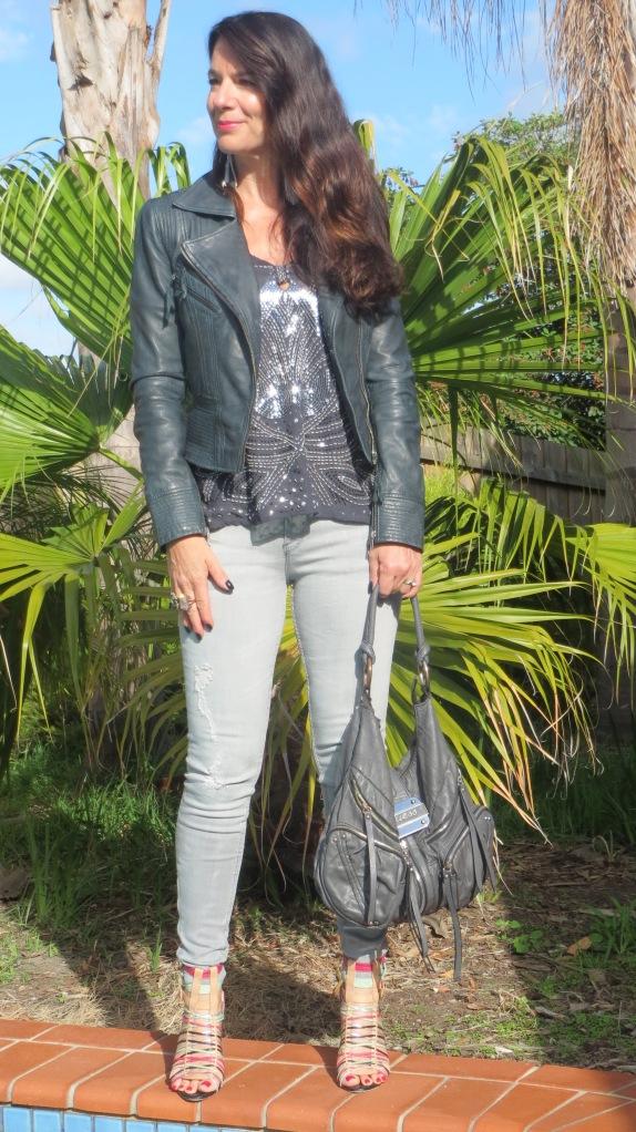 Zara grey jeans 3