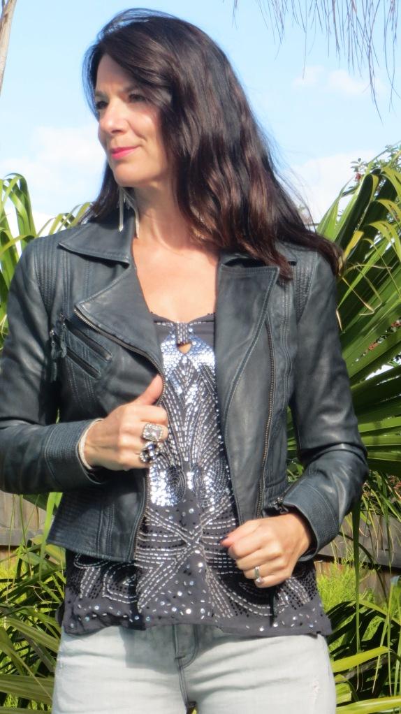Zara grey jeans 5