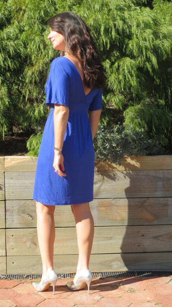 Blue stud dress 5