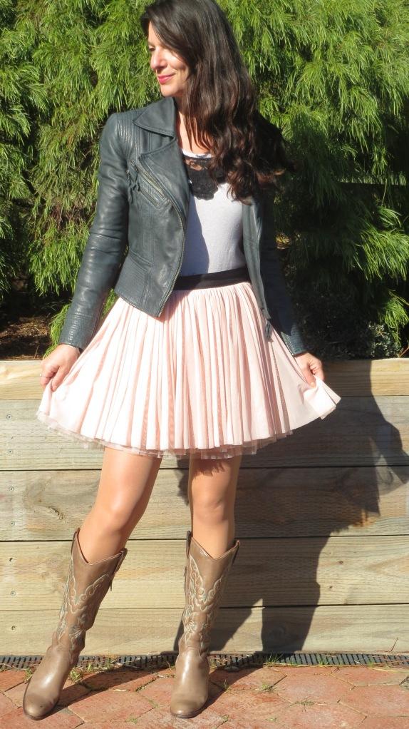 Pink Sass skirt 1