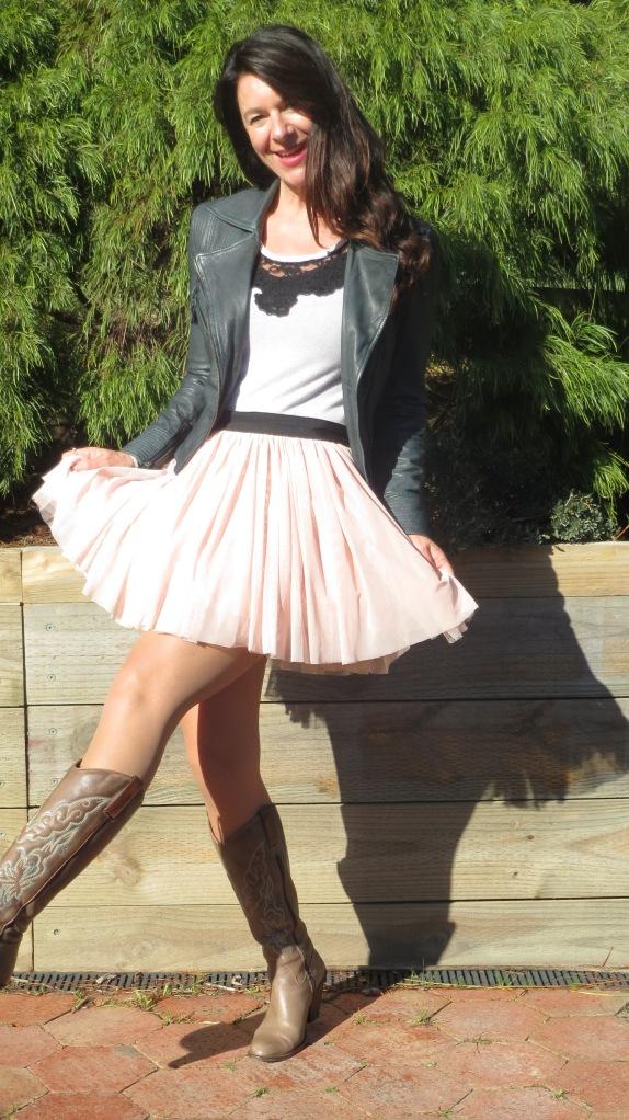 Pink Sass skirt 2