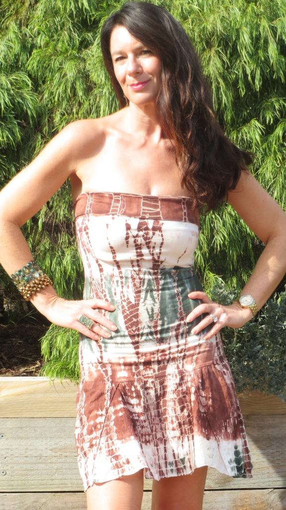 Tie-dye dress 2
