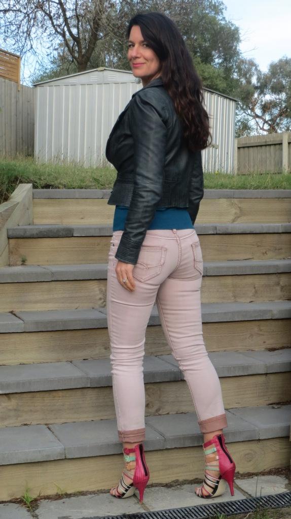 Pink Stitch jeans 2