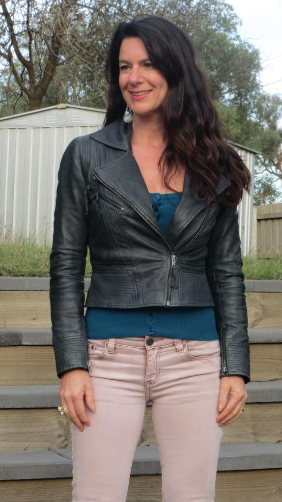 Pink Stitch jeans 3