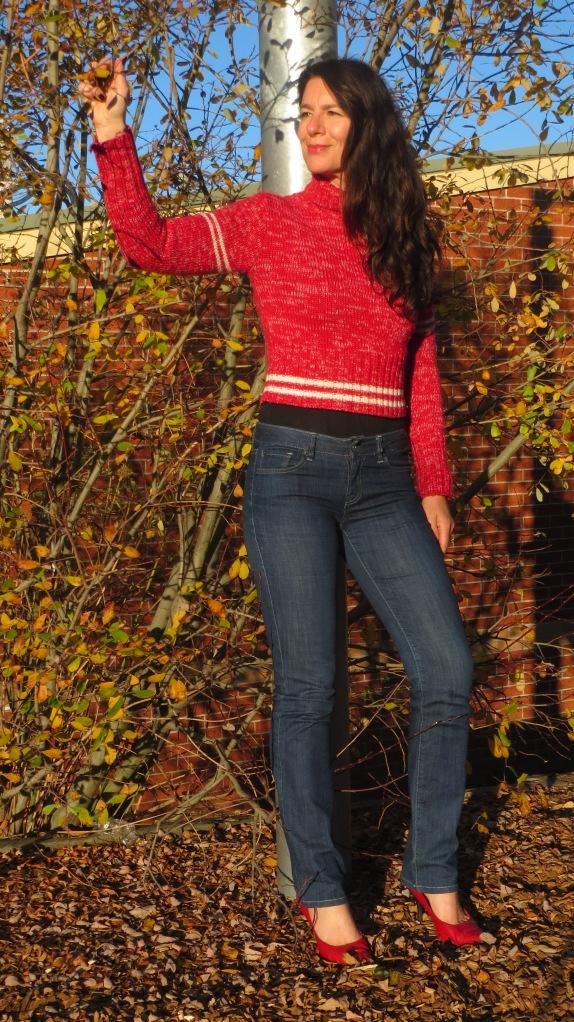Red Fiorucci jumper 1