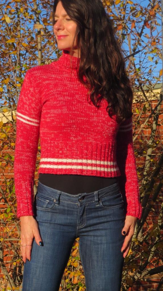 Red Fiorucci jumper 2