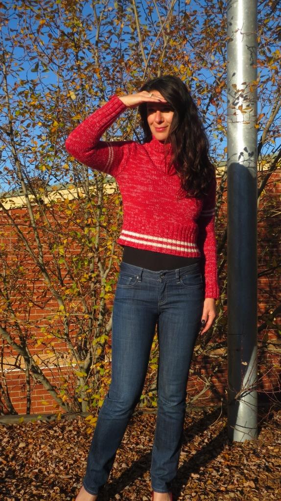 Red Fiorucci jumper 3