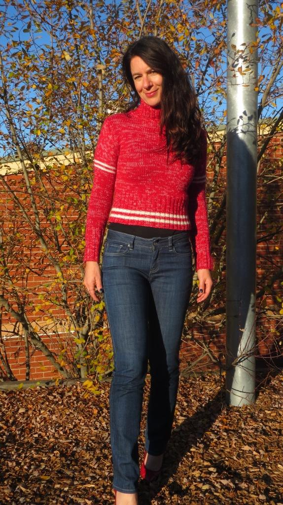Red Fiorucci jumper 4