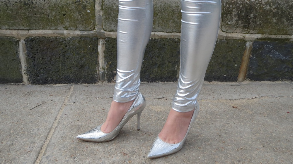 Silver leggings 4