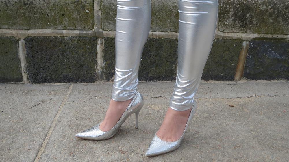 Silver leggings 4