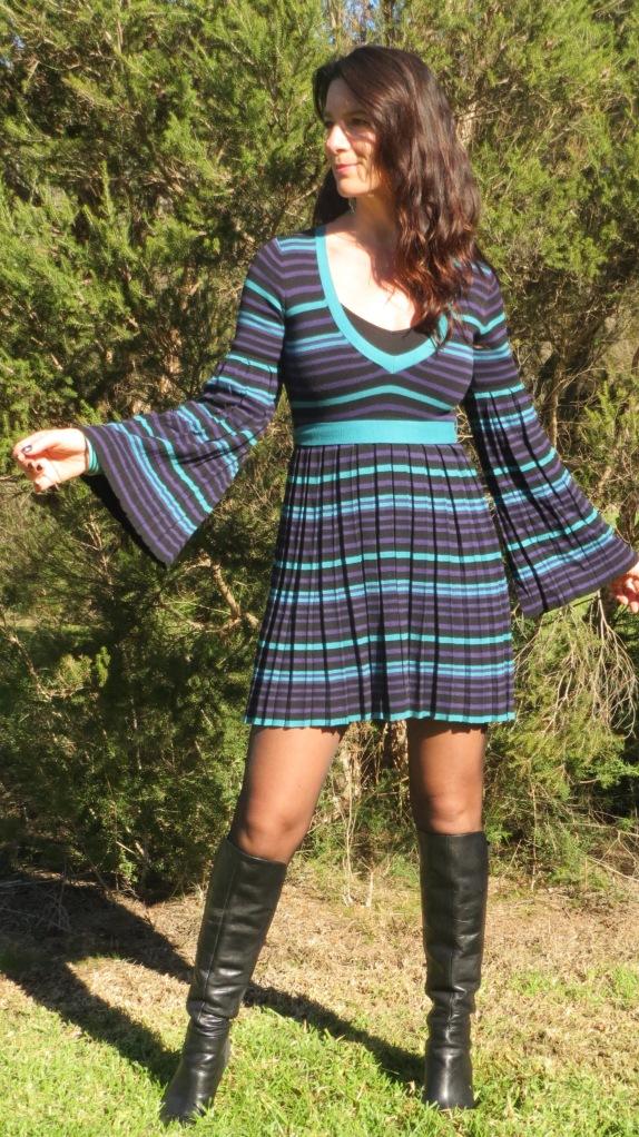 Stripe Dotti dress 1