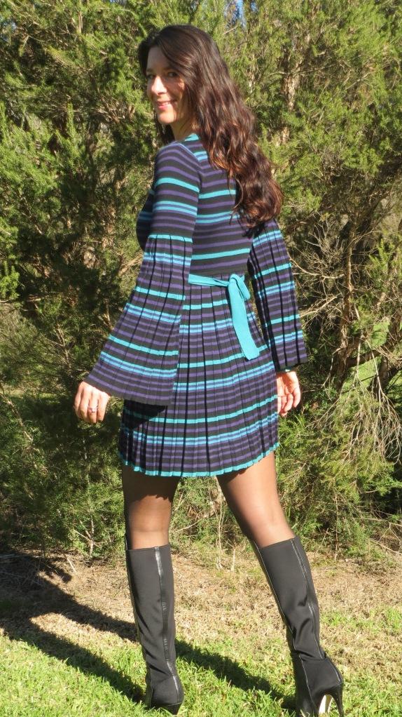 Stripe Dotti dress 2