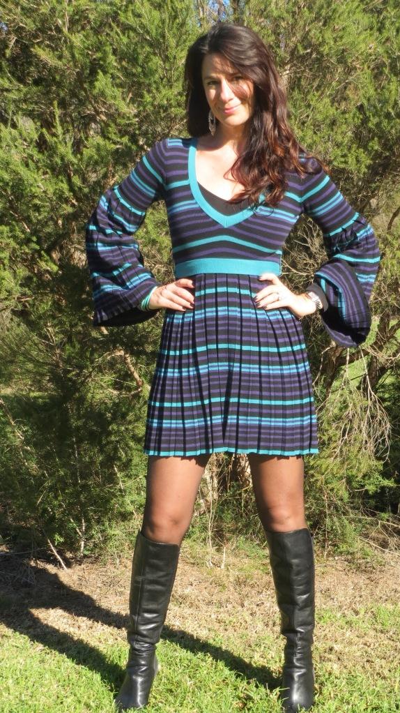 Stripe Dotti dress 3