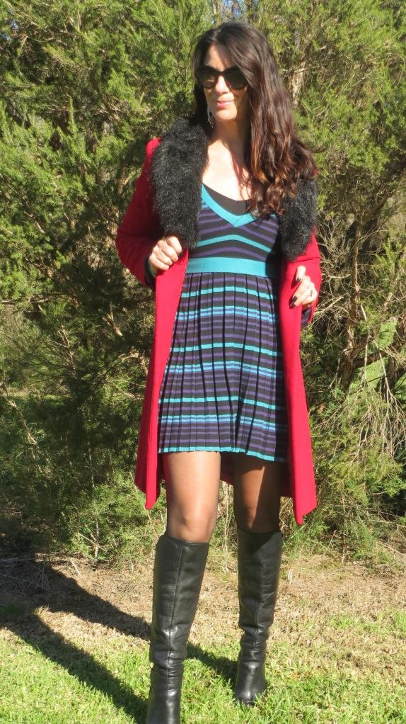 Stripe Dotti dress 4