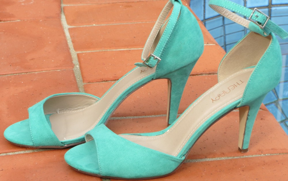 Green Therapy heels