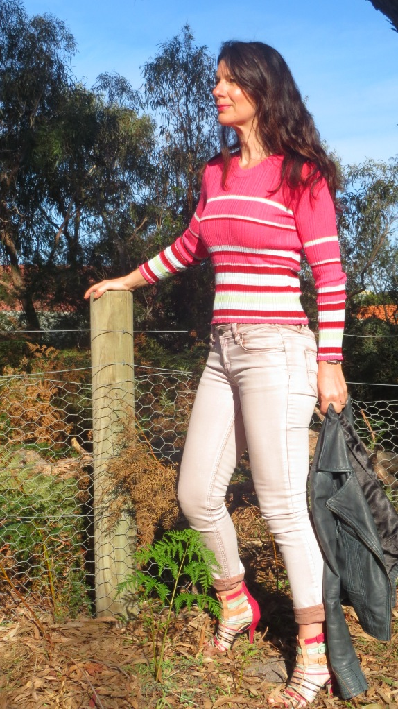 Kookai pink knit 1