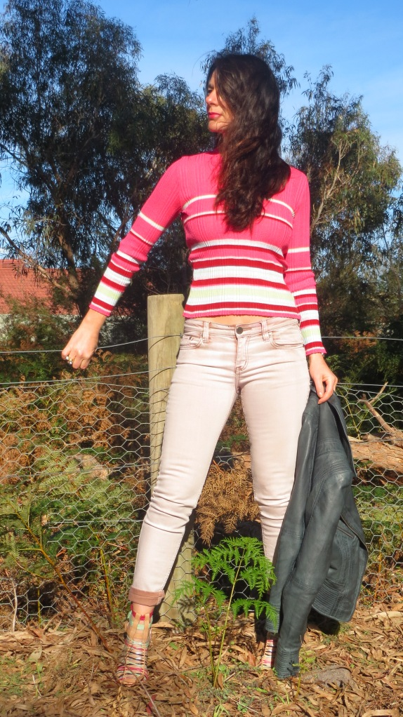 Kookai pink knit 2