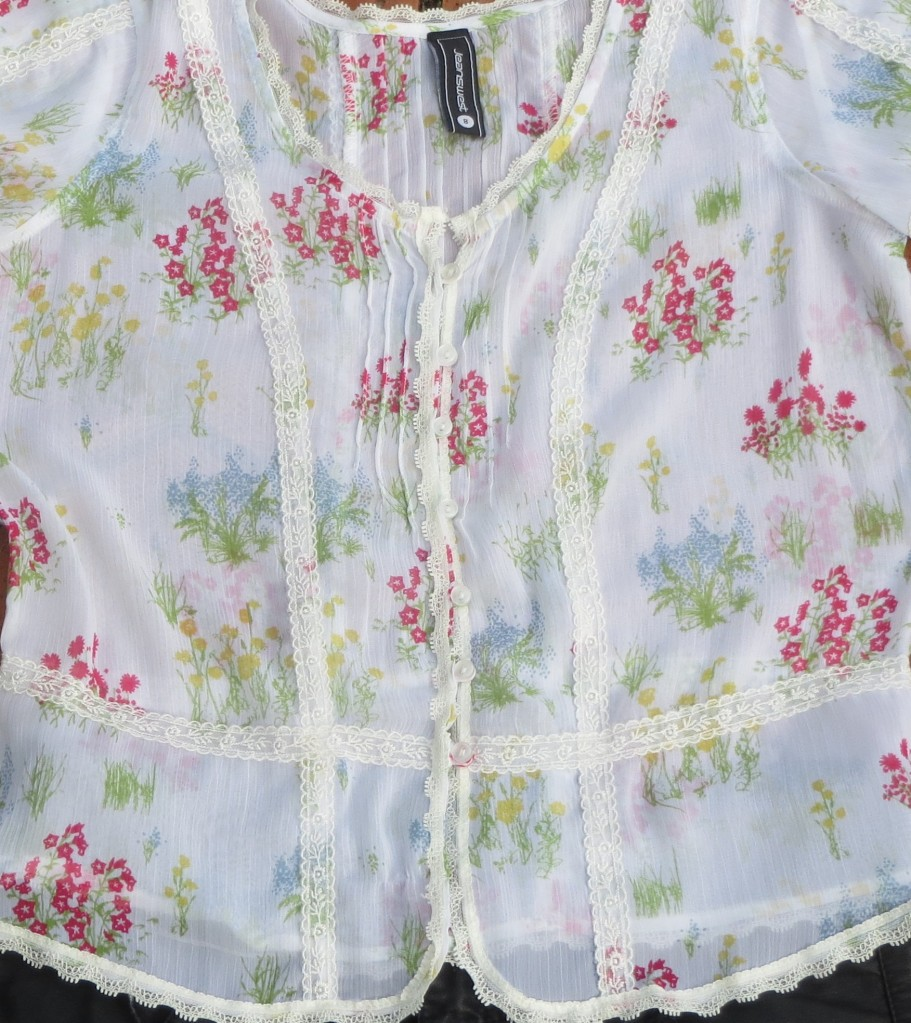 Sheer Jeanswest floral top