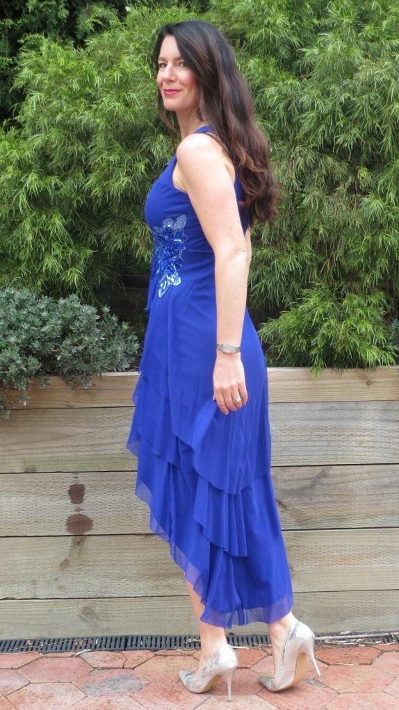Blue bling dress 3