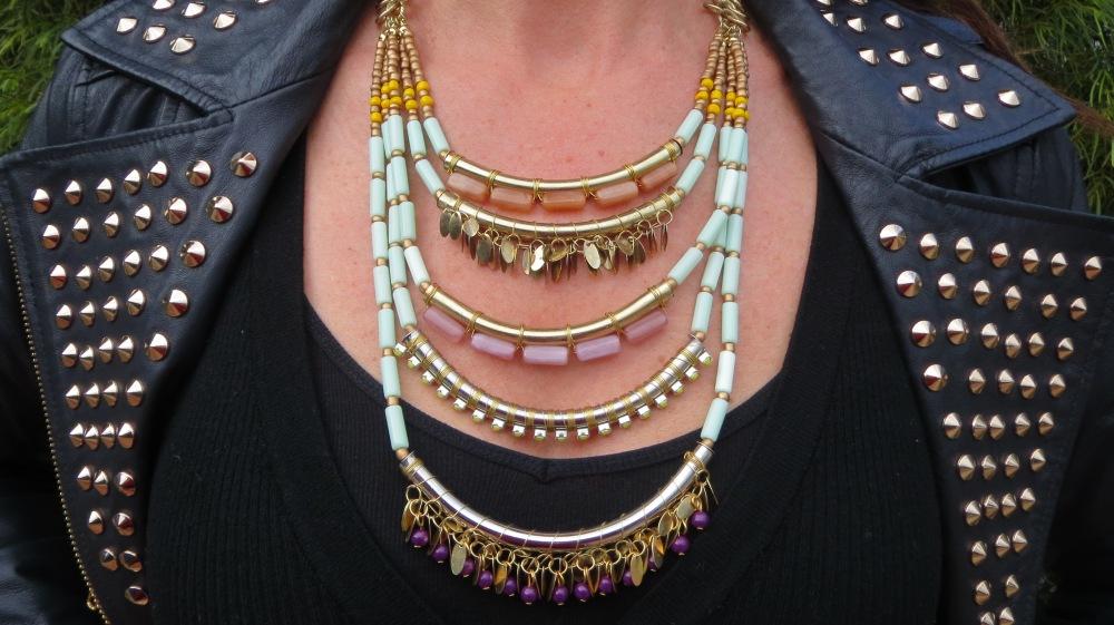 Lovisa aqua neckpiece