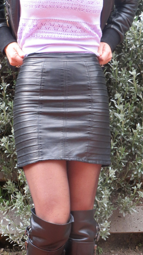 Black mink pink skirt 3