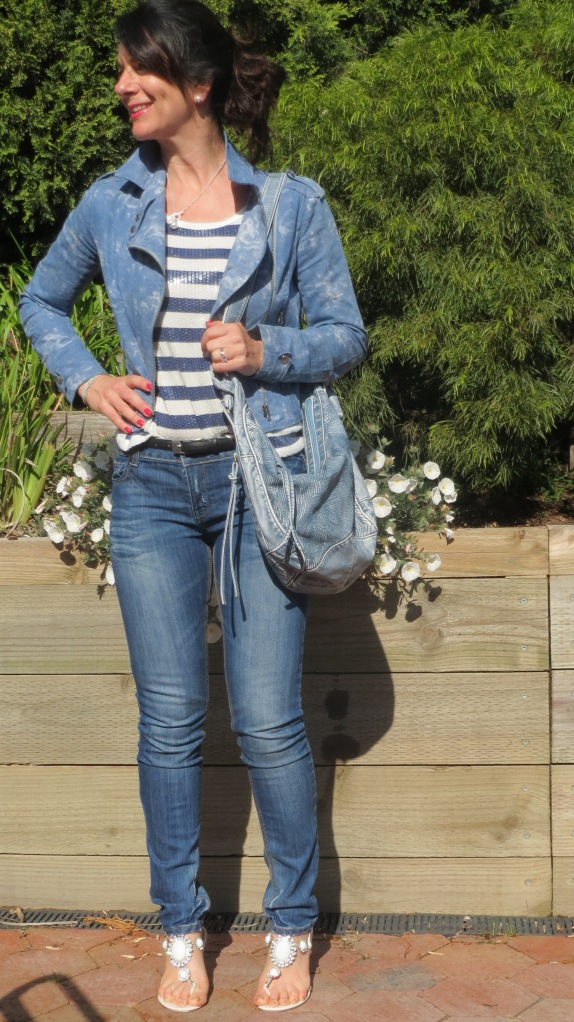 Denim jkt, jeans 1