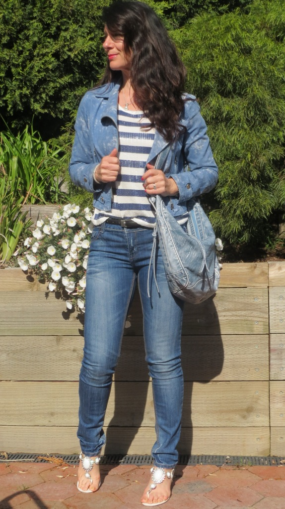 Denim jkt, jeans 4