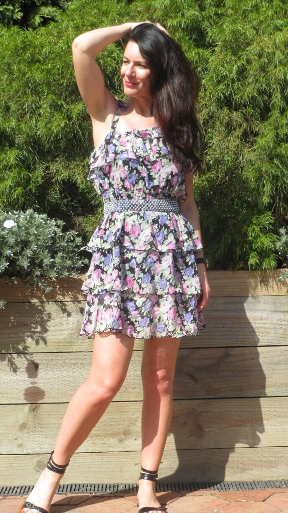 Floral Miss Shop dress 3