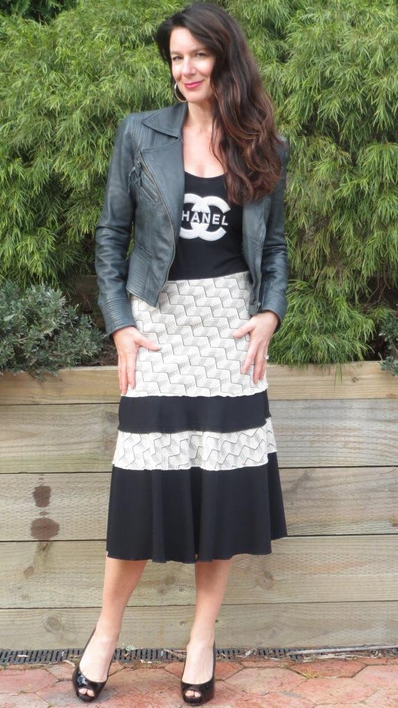 Jigsaw skirt 1