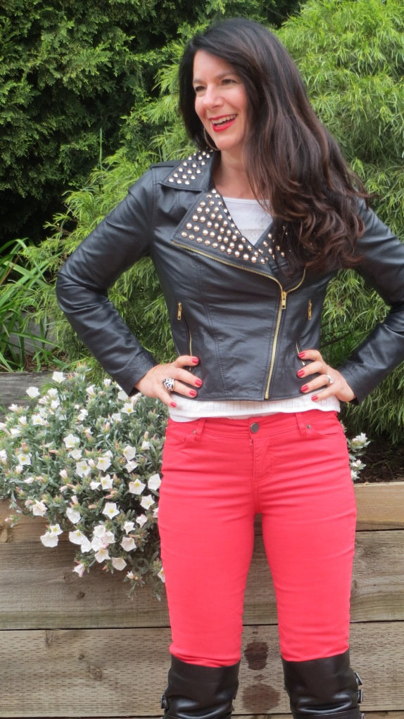 Red jeans 1